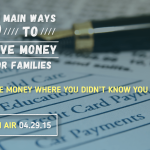 Save Money For Families