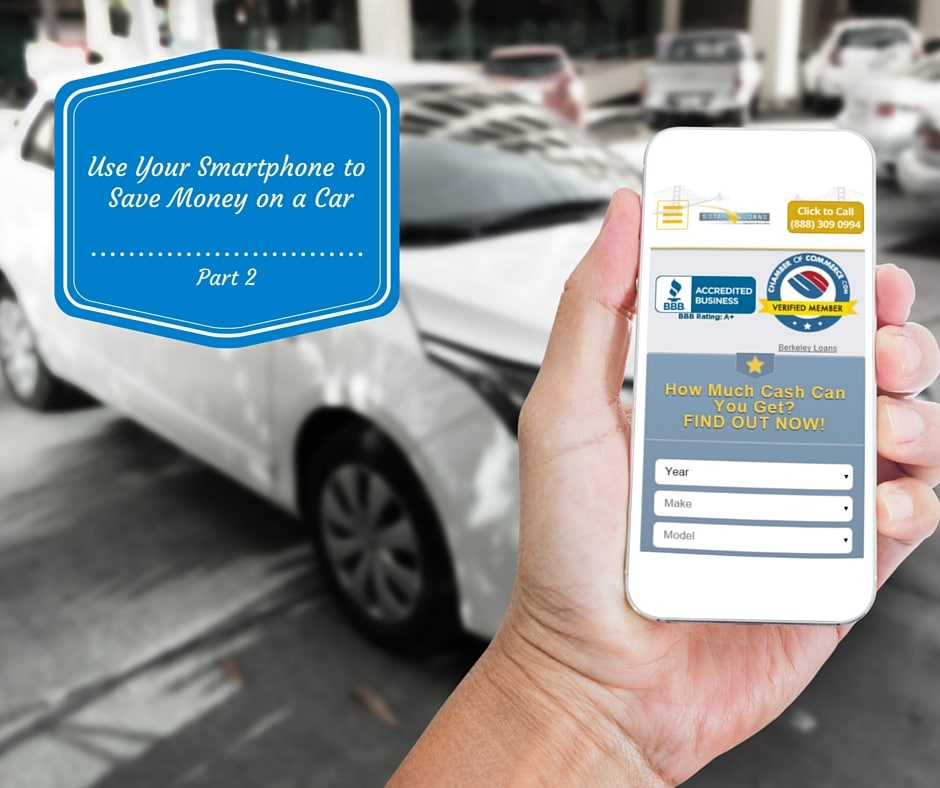 Use Your Smartphone to Save Money on a Car