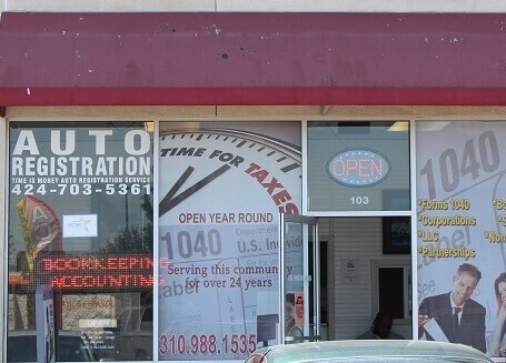 Auto Title Loans in Inglewood