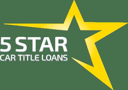 5 star car title loans logo