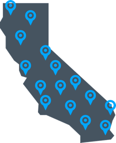 5 Star Car Title Loans locations map