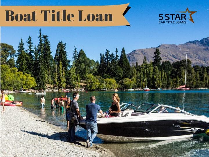 Boat Title Loan