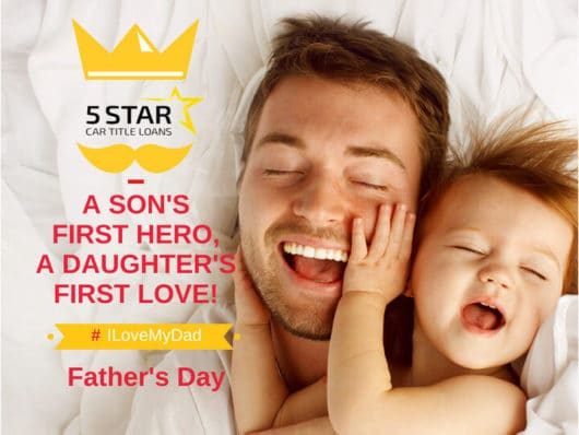 Father's Day Special 5 Star offer