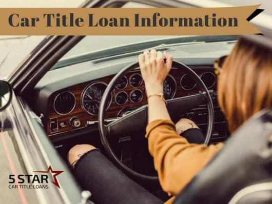 Car Title Loan Information