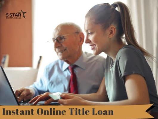 Instant Online Title Loan