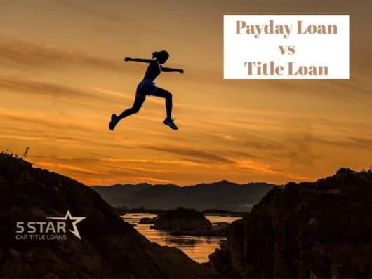 Payday Loan vs Title loan