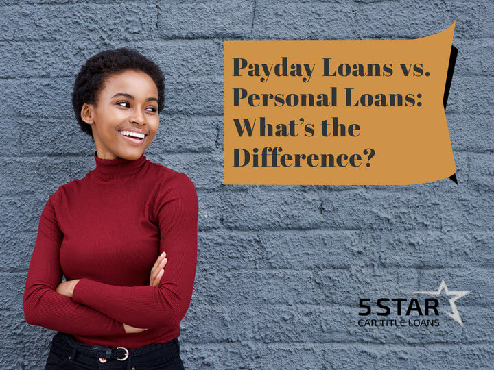 Payday Loans vs. Personal Loans What's the Difference